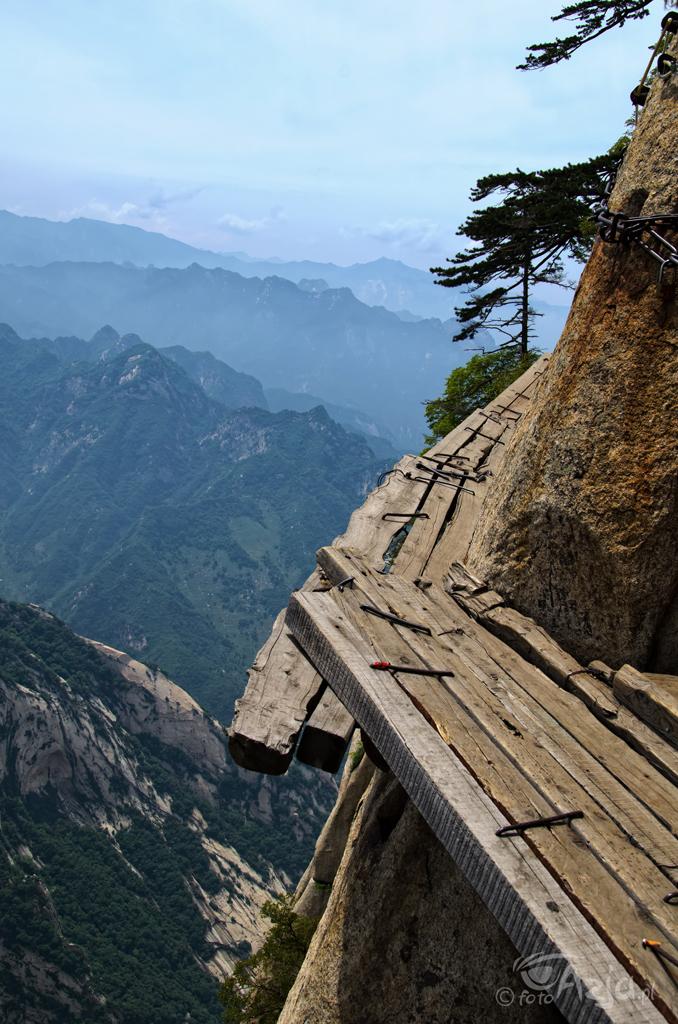 Ścieżka nad klifem