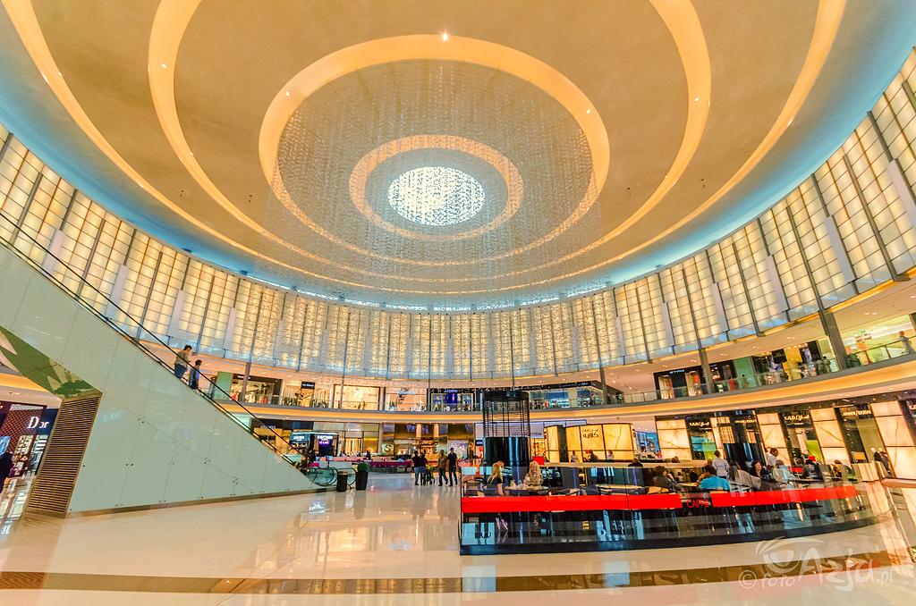Dubai Mall, największe na świecie cetrum handlowe pod względem powierzchni