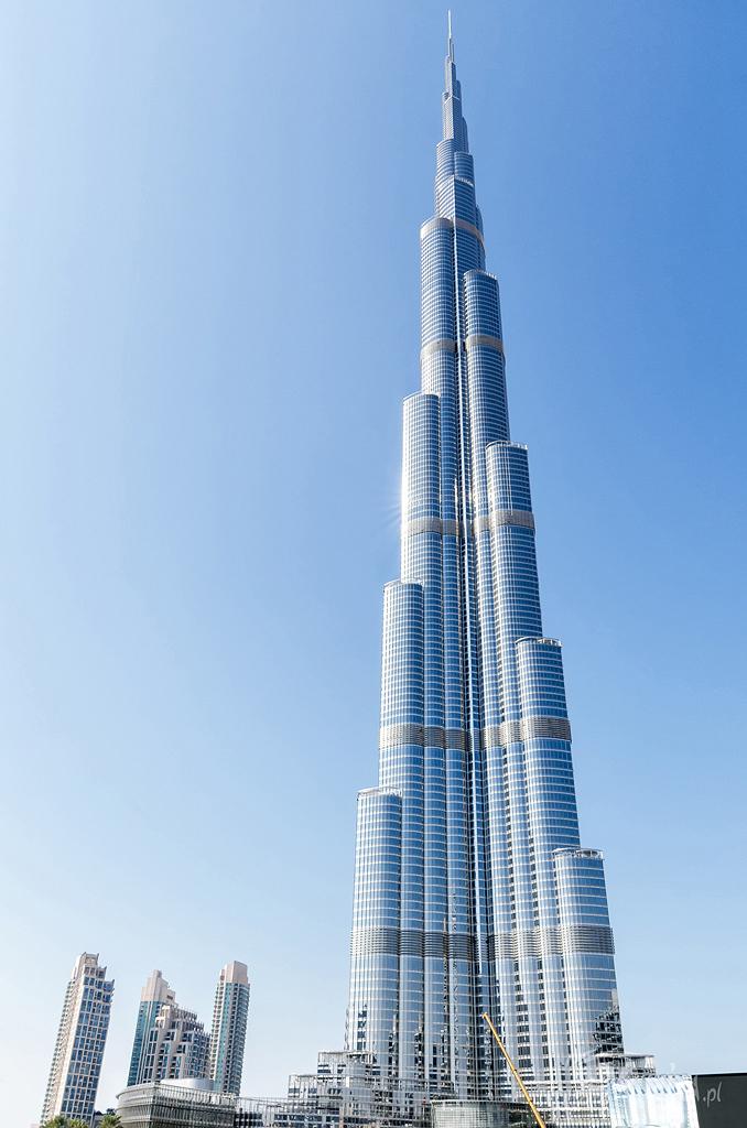 Burj Khalifa - aktualnie najwyższy budynek na świecie