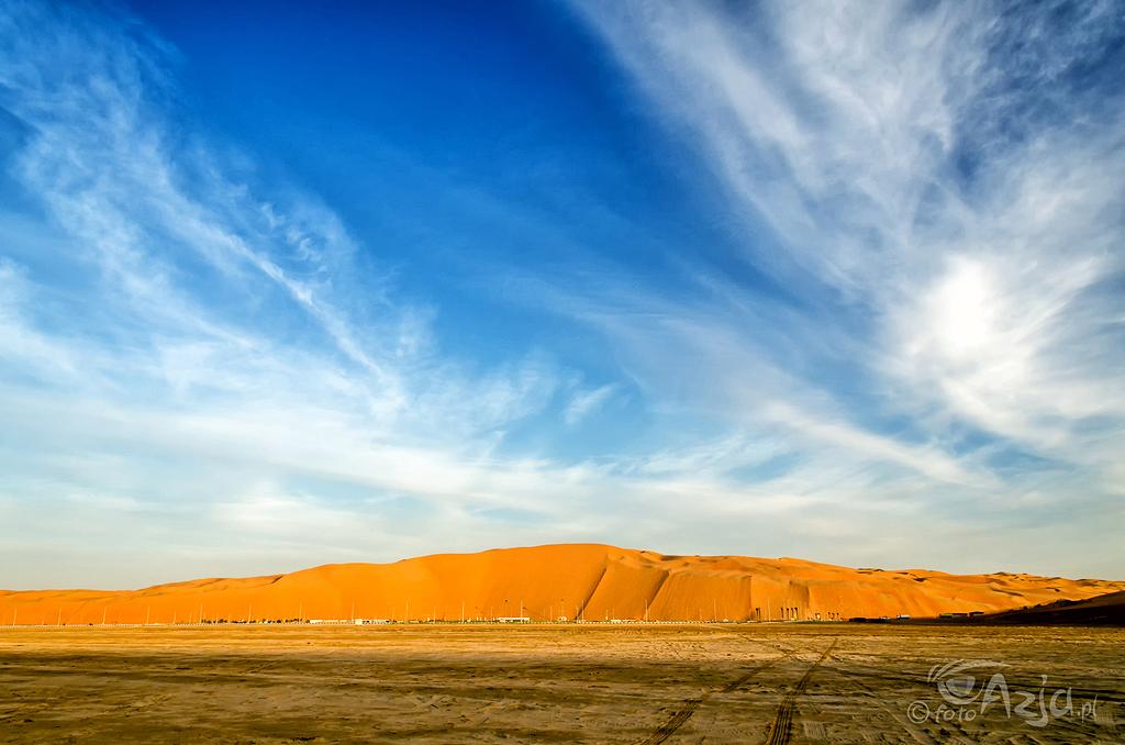 Tal Mireb - 300 metrowej wysokości wydma piaskowa