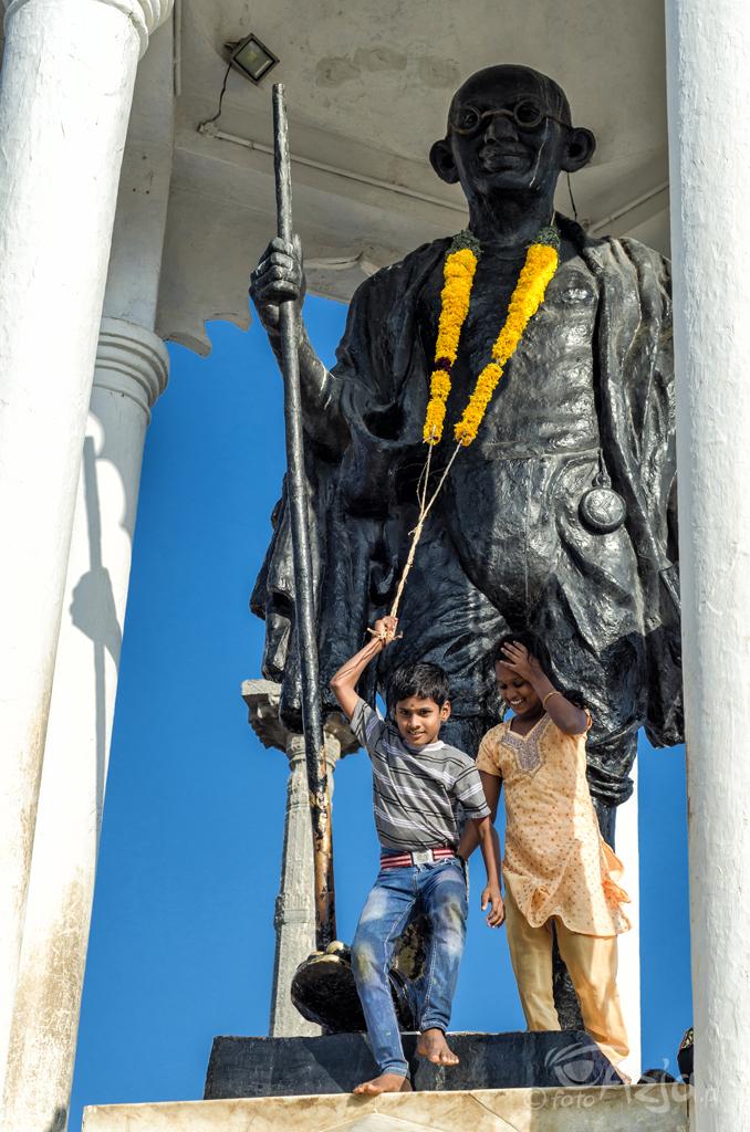 Statua Mahatmy Gandiego