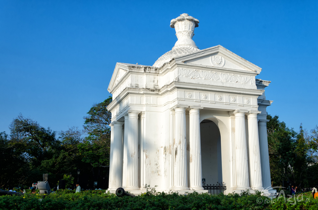 Monument w Parku Bharati