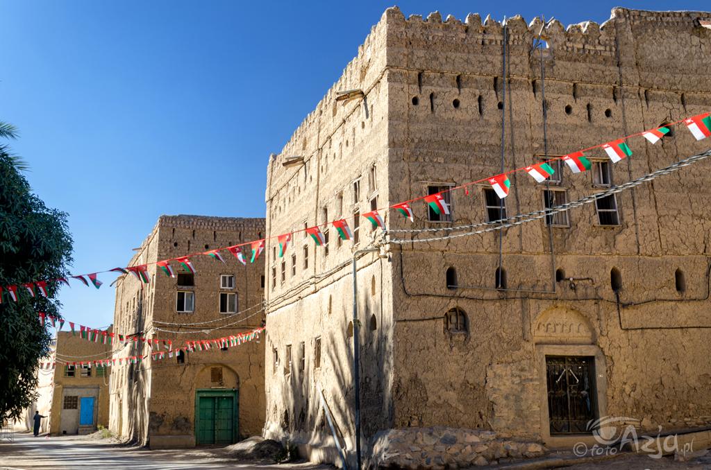 Stare budynki w stylu jemeńskim
