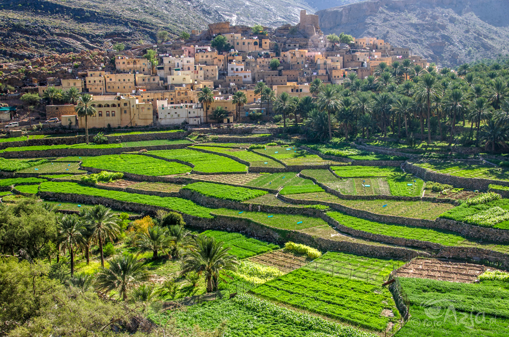Jedna z najpiękniejszych wiosek w Omanie