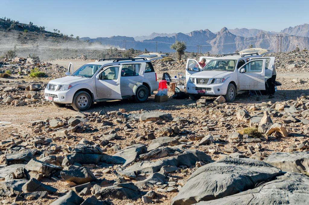 Obóz pod Jabal Shams