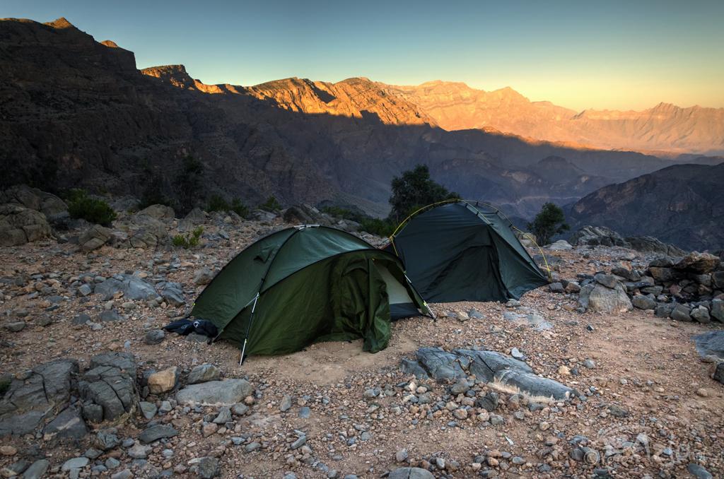 Obóz w górach