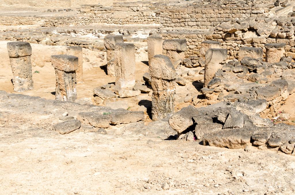 ruiny XII wiecznego portu Zafar