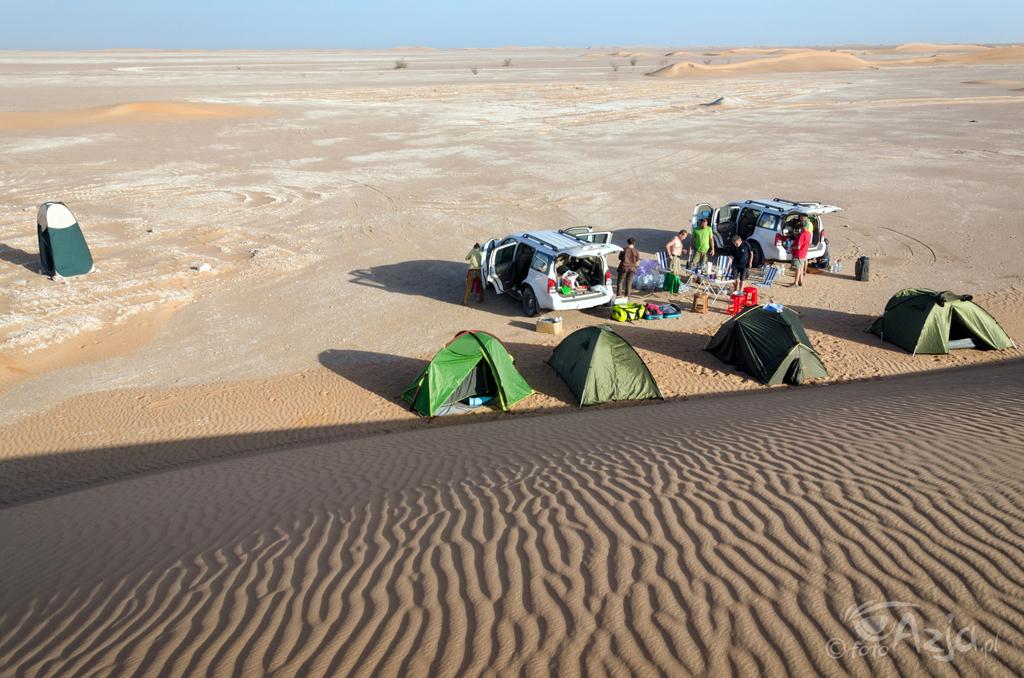 Obóz na skraju Empty Quarter