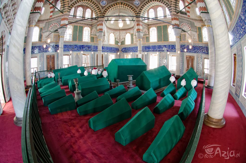 Grobowce Sułtanów w Hagia Sofia